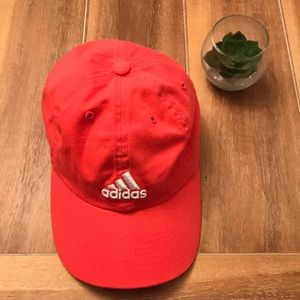 🌸 EUC Adidas Coral Baseball Hat